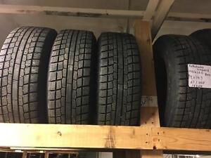 winter tires/rims (yokohama iceguard 195/65r15)