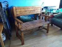 Garden bench brand new