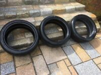tyres 17 inch 19 inch michelin goodyear BELFAST NEWCASTLE can meet dliver if needed 5-7 mm superb