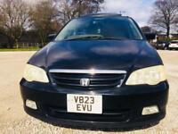 Honda Odyssey year 2000 2.3 petrol AUTOMATIC Japan Import