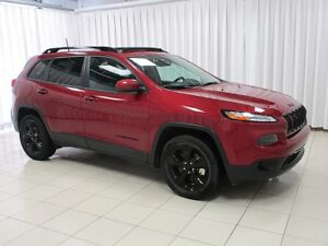 2017 Jeep Cherokee IT'S A MUST SEE!!! 4X4 SUV w/ LEATHER INTERIO