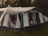 Dorema Starcamp size 7 full awning