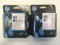 Original unopened HP 82 Black Ink Cartridge