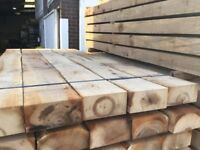 French oak railway sleepers