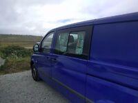 2006 Mercedes Vito Campervan 109 CDI LWB Camper Van Self Build Conversion Project VW Transporter T5