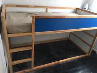 Ikea Kura reversible kids bed with bed tent