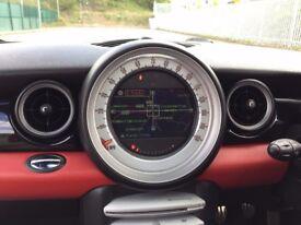 2007 (Mar 07) MINI COOPER 1.6 S - Hatchback 3 Dr - Petrol - Manual - RED *PAN ROOF/SAT-NAV/LEATHER*