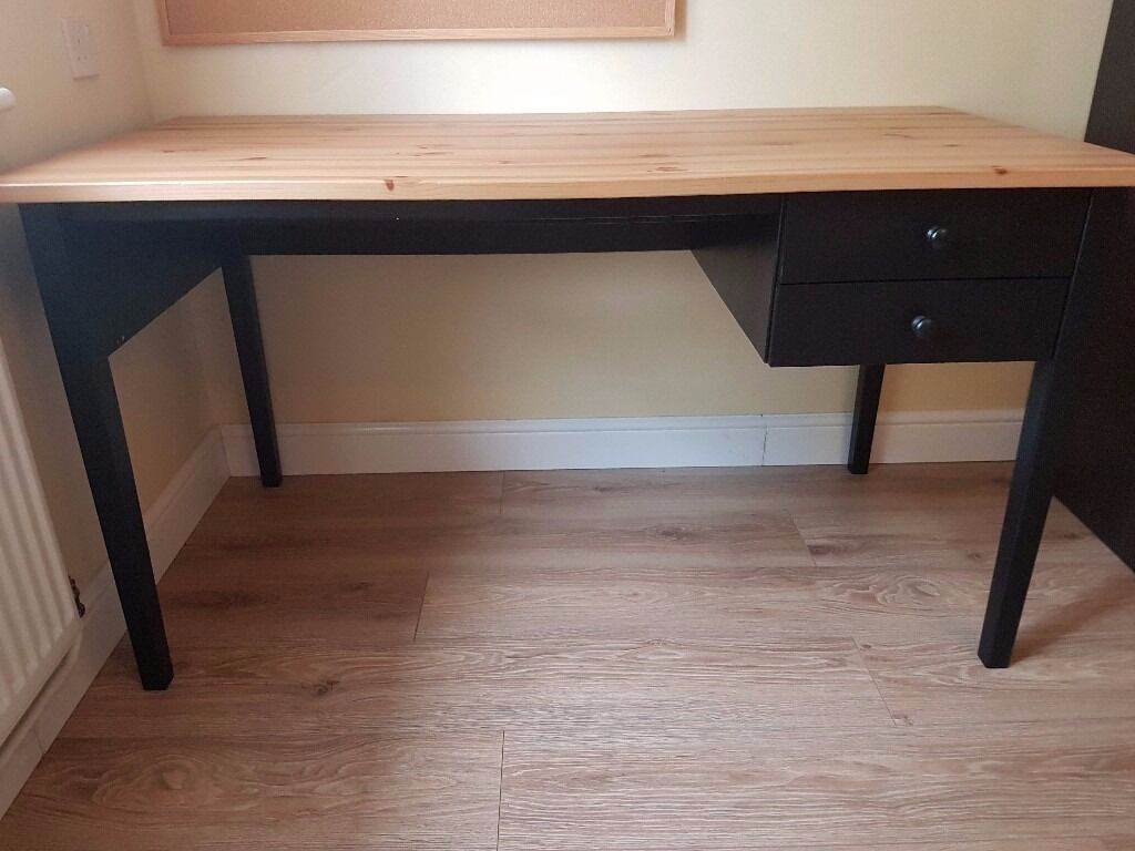 ikea arkelstorp desk solid wood perfect condition rp 150 in st albans hertfordshire. Black Bedroom Furniture Sets. Home Design Ideas