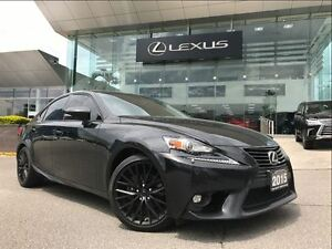 2015 Lexus IS 250 1 Owner Premium Pkg AWD BackUp Camera Sunroof