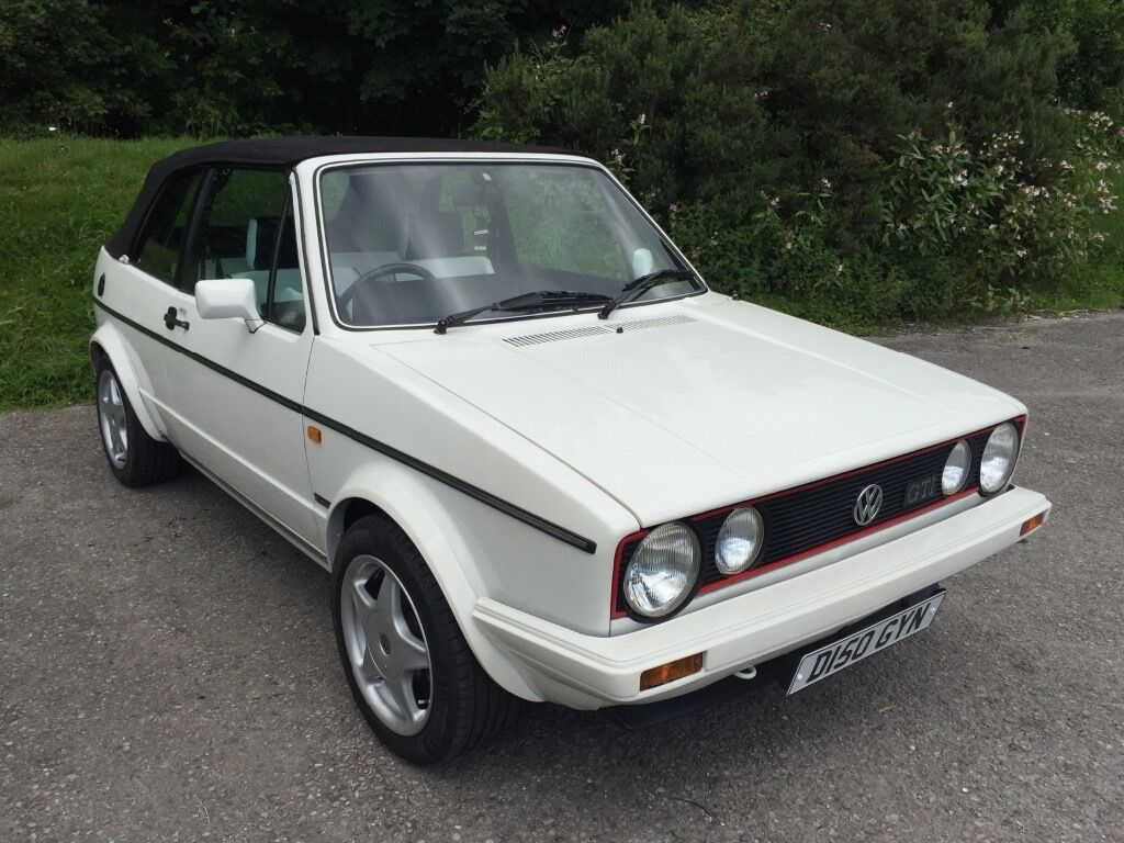 mk1 vw golf gti cabrio show condition investment. Black Bedroom Furniture Sets. Home Design Ideas