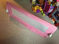 Tomy universal bed rail (pink)