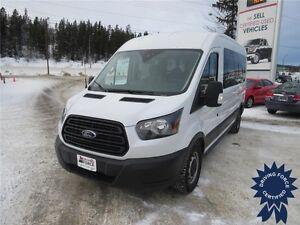 2015 Ford Transit XL 12 Passenger Rear Wheel Drive - 64,465 KMs