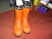 SECOND HAND Chainsaw Boots For Sale ………….Posting for 6 + years