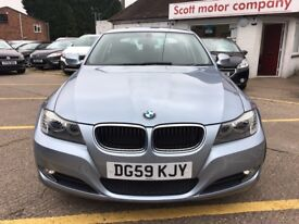 BMW 3 SERIES 2.0 318d SE 4dr (blue) 2009