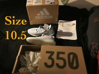 Yeezy Boost Blue Tint - Size 10.5 (BRAND NEW) (PROOF OF AUTHENTICITY) (DELIVERY/COLLECTION)