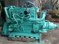 Perkins 6.354 Marine Diesel Engine c/w Borg-Warner Gearbox