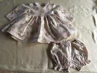 Baby Dior girls dress / outfit Age 12 Months