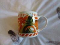 Star Wars BB8, Small Childrens Ceramic Mug.