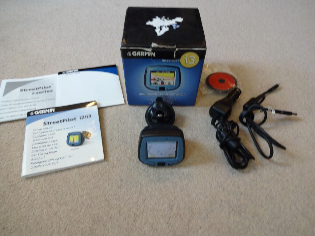 Garmin StreetPilot Sat Nav - GPS - Sat Nav - Boxed