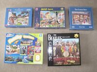 Jigsaw Puzzles, including THE BEATLES, - other Jigsaw puzzles / Games available