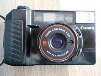 Canon Sure Shot Camera ( Classic Vintage Camera circa 1979 )