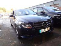 MERCEDES-BENZ E CLASS E220 BlueTEC SE 5dr 7G-Tronic Auto (blue) 2014