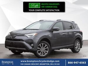 2016 Toyota RAV4 LIMITED AWD | 1 OWNER TRADE-IN