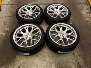 "18"" VMR Wheels 5x112 with Winter Tires 225/40R18 (Mercedes Cars) Calgary Alberta Preview"
