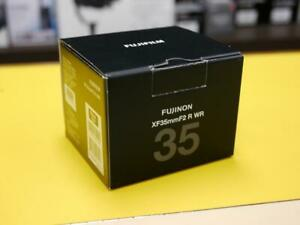 Used Fujinon Lens XF 35mm F2 R WR Lens good condition with Original Box (ID563)