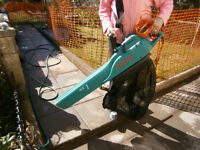Bosch garden vacuum / leaf blower - powerful & excellent condition