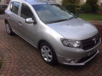 Dacia Sandero Ambiance in silver, one previous owner, only 19,000 miles