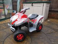 Feber Kings Cross kids quad bike with working lights and sounds