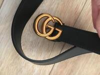 GG rose gold buckle gucci style marmont belt
