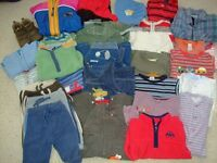 Bundle of baby/toddler boy - age 6 months-2 years clothes