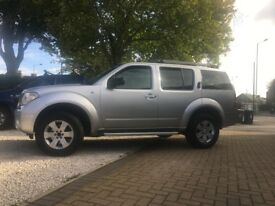2006 WITH PRIVATE PLATE, NISSAN PATHFINDER 2.5TDCI SPORT 7 SEATER, 6 SPEED, S/HISTORY STUNNING SUV.