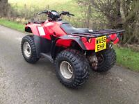 HONDA TRX 250 FOURTRAX ROAD LEGAL FARM QUAD ATV 420 grizzly 350 300 450