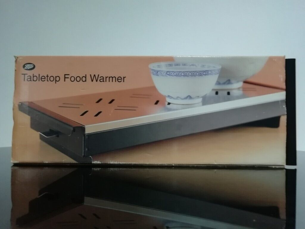 Energy saving Table top food warmer 3 candle Ideal for dinner parties New