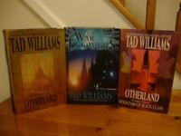3 HARD BACK BOOKS BY TAD WILLIAMS