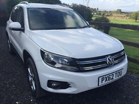 2012 PRISTINE 2012(62) VW TIGUAN 2.0tdi 4MOTION DSG ESCAPE BLUEMOTION