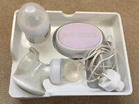 Perfect Condition Avent Electric Breast Pump+5 Bottles+1.5 Boxes of Breast Pads