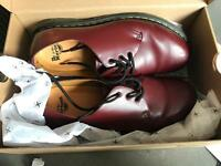 Dr Martens shoe size 10 ox blood red