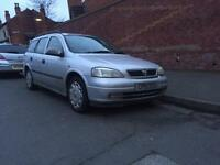 Vauxhall Astra 1.6 estate 2001 MOT&TAX - drives good - not ford opel van mpv bigboot BARGAIN CHEAP