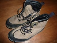 FLY FISHING GREYS WATERPROOF BOOTS WITH STUDS. SIZE 9