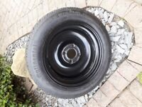 Peugeot 207-308 Spare tyre