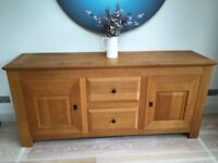 Pierson Linium Solid French Oak Sideboard.