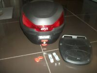 Givi motorcycle box like new please read bargain