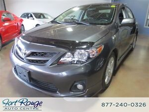 2012 Toyota Corolla S/SUNROOF/LOW KMS