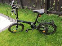 Folding bike shimno gear 7