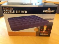 Double Air Bed - Never Used