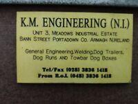 MANUFACTURED DOG TREKER TRAILER £295